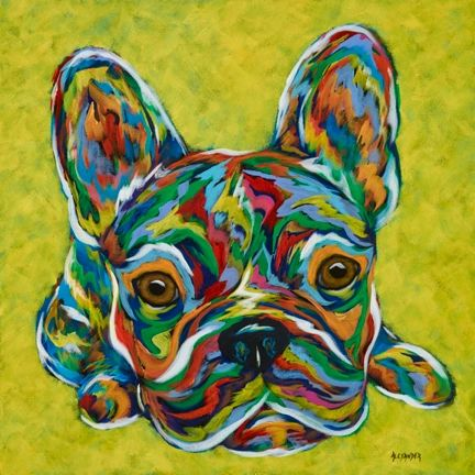 I'm Listening... - French Bulldog