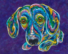 "I Want It Now! - Dachshund Metal Print Size 11"" x 14"""