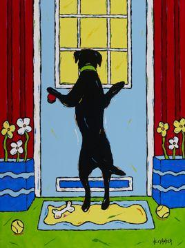 Come Out & Play - Labrador Retriever
