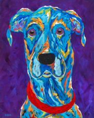 """The Great One - Great Dane Metal Print Size 16"""" x 20"""""""