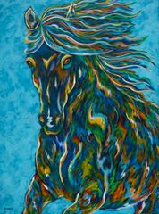 Courageously Moving Forward - Horse Equine
