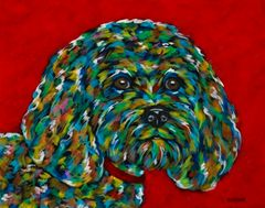 "What Do You Think? - Cockapoo METAL PRINT Size 11"" x 14"""