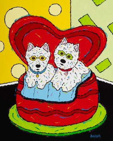 Loveseat - Westies