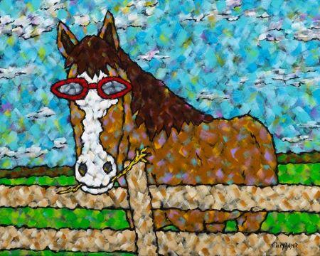 I Said HAY!!! - Horse