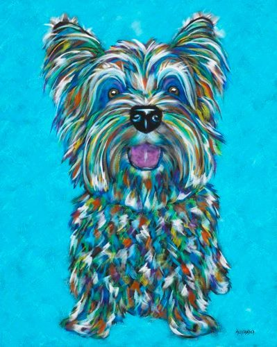"You Make Me Smile - Skye Terrier METAL PRINT SIZE 11"" X 14"""