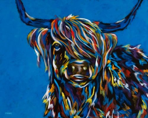 Stylin' MOOusse - Highland Cow