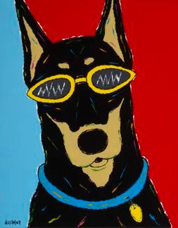 Gotta Wear Shades - Doberman Pinscher