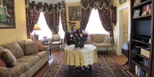 Relax in Formal Parlor