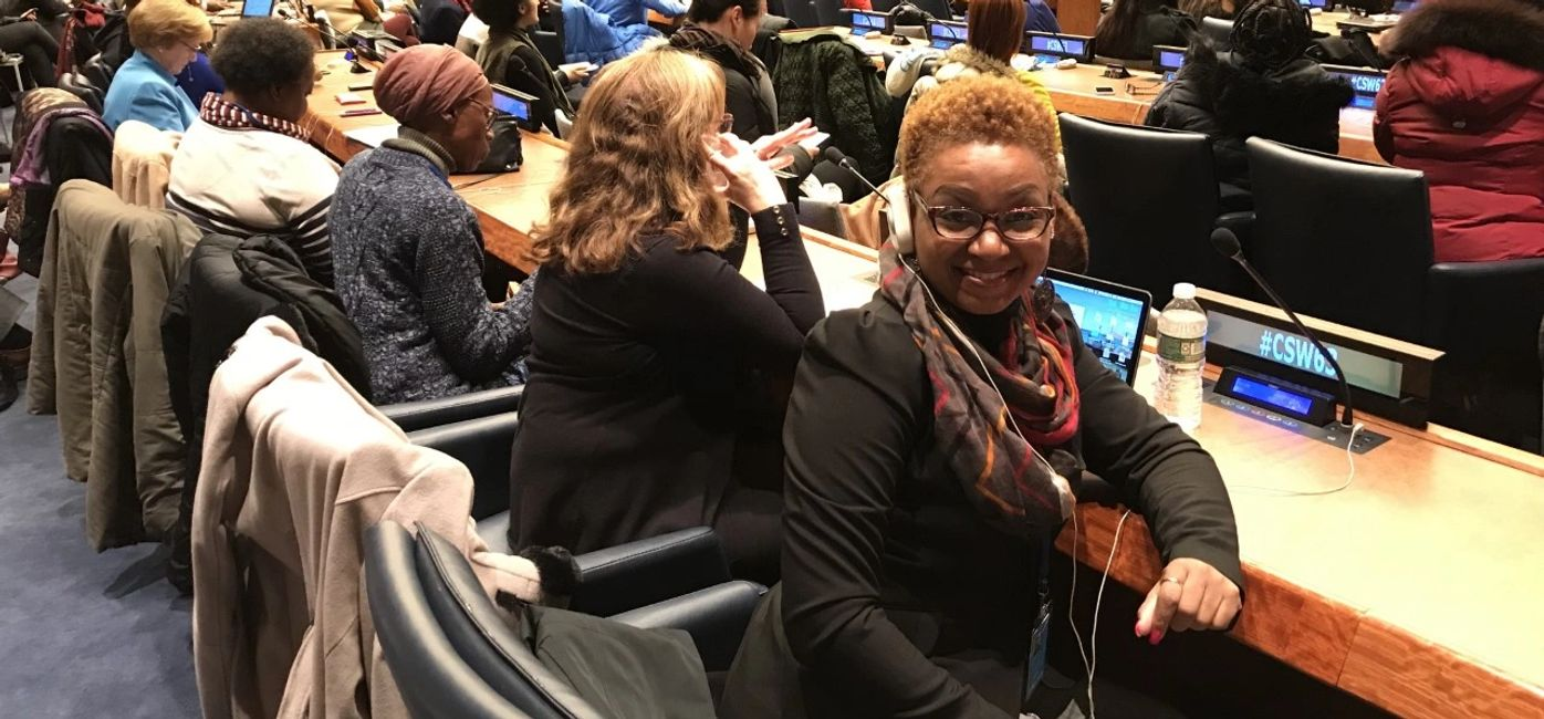 2019.  Town Hall with Secretary-General António Guterres.  United Nations Headquarters, NY, CSW 63.