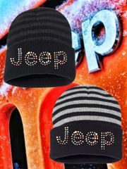 Jeep Beanie Stripes