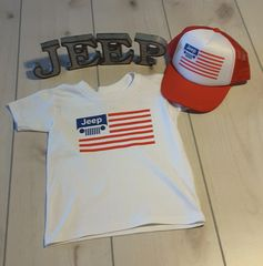 Kids Jeep USA Shirt Boys Set