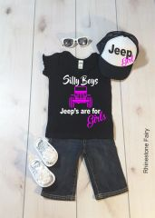 Kids Jeeps are for Girls LITTLE GIRLS Shirt