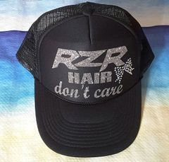 RZR Hair Don't Care Trucker Hat With Bow