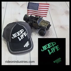 JEEP LIFE Glow In The Dark hat