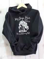 Sweatshirt Messy Jeep Girl Sweatshirt