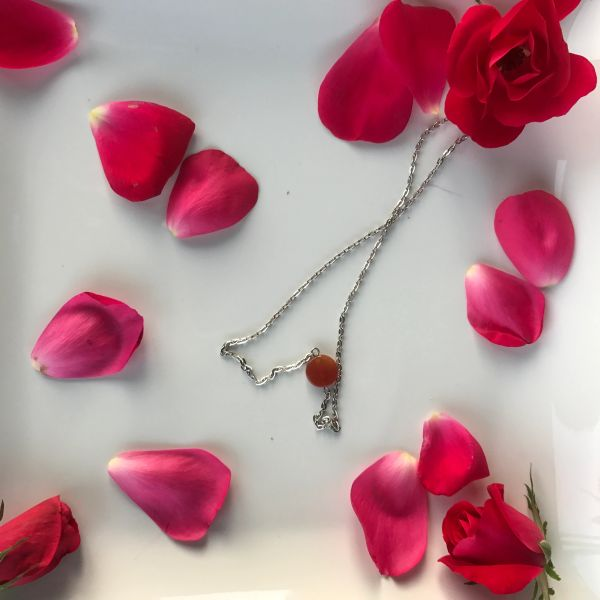 Dainty Carnelian Boho Layering Necklace