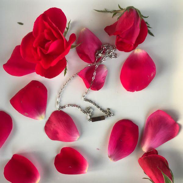 Dainty Bronzite Boho Layering Necklace