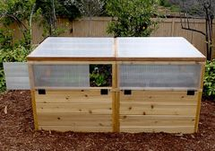 OLT Greenhouse Kit with Raised Garden 6' x 3'
