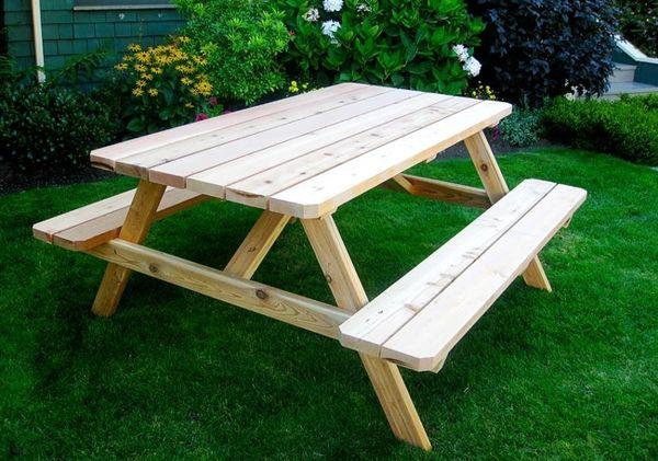 OLT Cedar Picnic Table 6' x 5' Kit