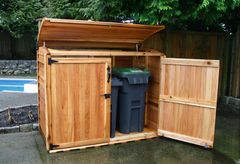 OLT Oscar Waste Management Shed 6' x 3'