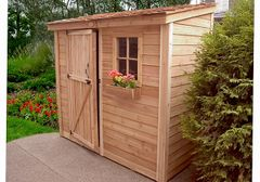 OLT SpaceSaver Tool Shed 8×4
