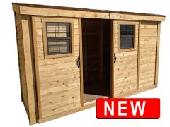 OLT Slider Storage Shed 12×4