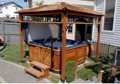 OLT 9'x9′ Naramata Spa Shelter