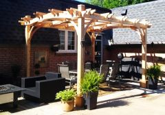 OLT Arched Breeze Pergola 10×12