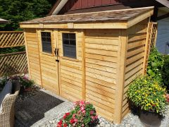 OLT Slider Storage Shed 12'×4'