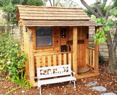 6 x 6 Little Squirt Playhouse