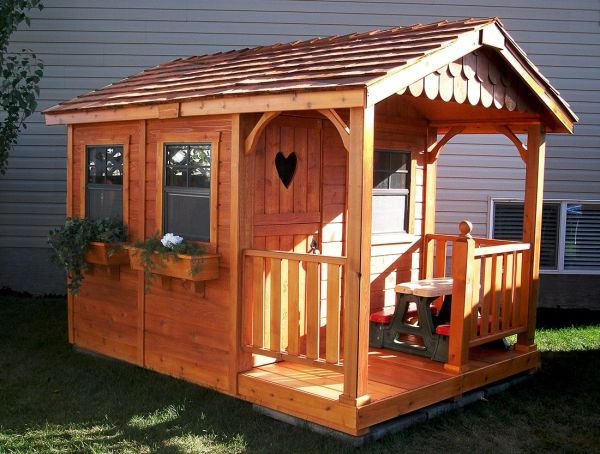 6 x 9 Sunflower Playhouse