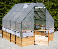 OLT Garden in a Box with Greenhouse Kit - 8 x 8 and larger