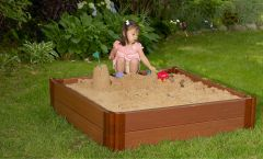 Composite Sandbox Kit 4ft. X 4ft. X 11in. Square (1 inch profile)