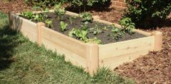 "4'x8' - 11"" high Cedar Raised Garden Bed by Marleywood"