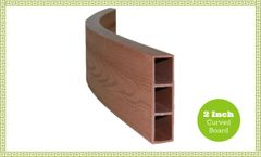 Frame It All Composite Standard Curved - 2in - Classic Sienna