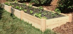 "4'x12' - 11"" high Cedar Raised Garden Bed by Marleywood"