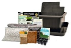 Metro Grower™ Elite, 6 gallon, 2 pack sub-irrigation growing system with amendments