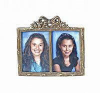 Arco Antique Double Photo Frame