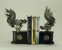 Gallos Pelea Rooster Bookends-Pair