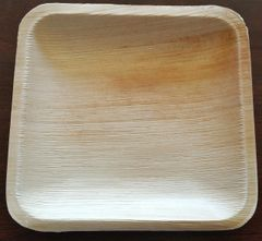 6 inch Square Plate (Pack of 10)