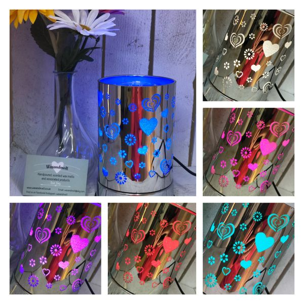 HEART COLOUR CHANGING ELECTRIC BURNER