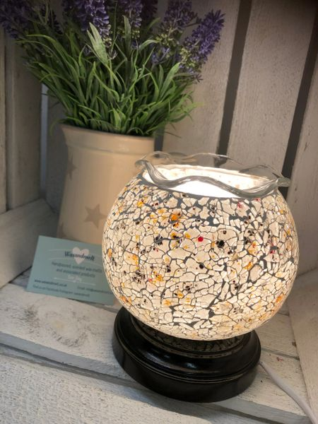 ROUND SPECKLED DIMMABLE ELECTRIC BURNER