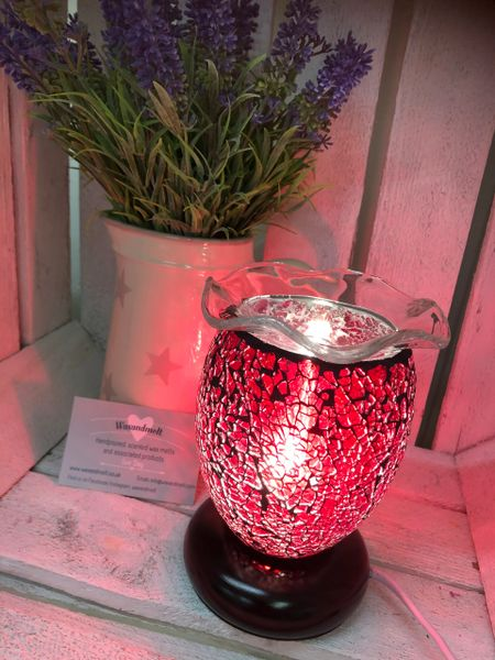 SMALL RED DIMMABLE ELECTRIC BURNER