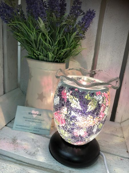 SMALL FLORAL DIMMABLE ELECTRIC BURNER