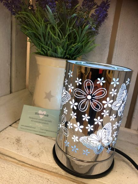 SILVER BUTTERFLY ELECTRIC BURNER