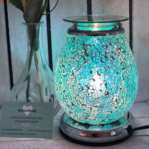 BLUE MOSAIC TOUCH ELECTRIC BURNER