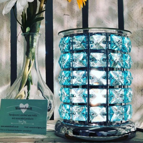 BLUE CRYSTAL TOUCH ELECTRIC BURNER