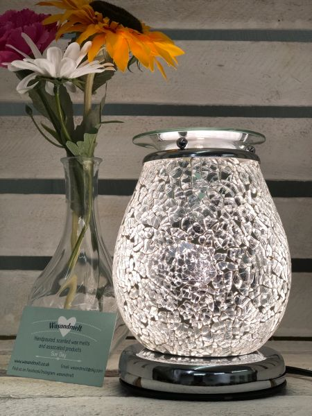 SILVER MOSAIC TOUCH BURNER