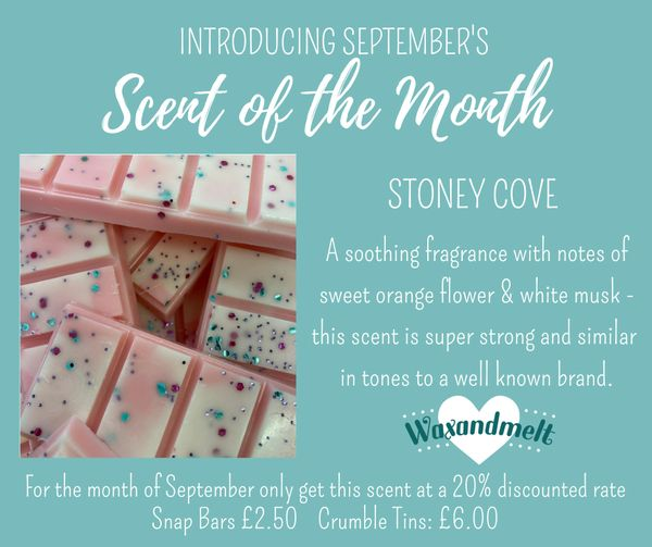 SEPTEMBER SCENT OF THE MONTH - STONEY COVE