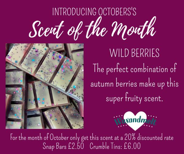 OCTOBER SCENT OF THE MONTH - WILD BERRIES